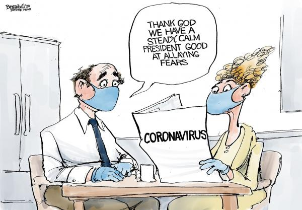 Baba God, we're grateful coronavirus met us prepared