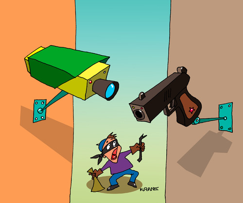 The law-abiding CCTV camera