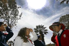 Radiación extrema se vive en Tacna, Moquegua, Arequipa y Puno
