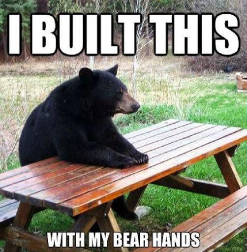 Meme Happy Bear Birthday Teddy