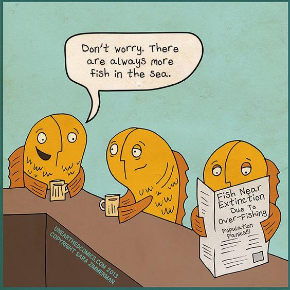 fish extinction pun