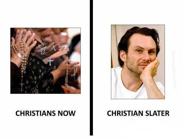 Christianity/Christian pun