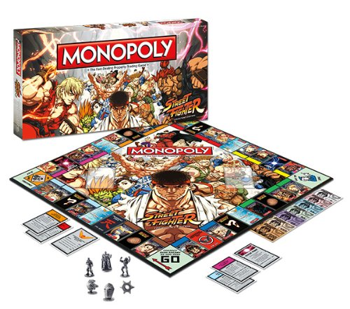 Streetfighter Monopoly