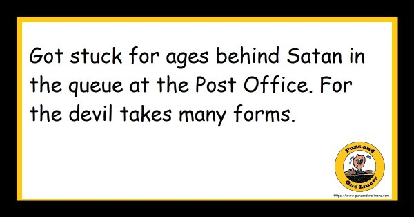 Post Office Jokes : Puns And One Liners