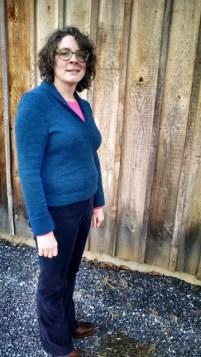 Cornsilk sweater