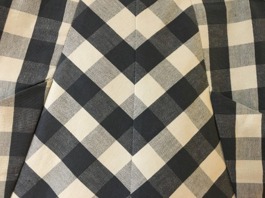 Front plaid matching