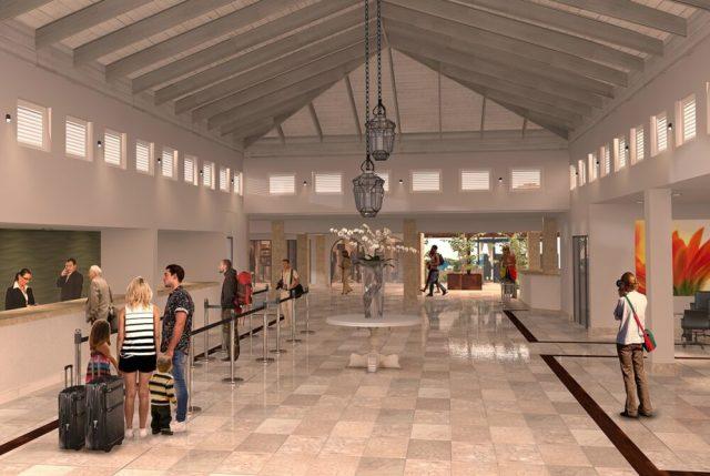 Nuevo Lobby del Sunscape en Playa Bávaro