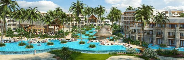 Vistas del nuevo Secrets Cap Cana & Spa en playa Juanillo