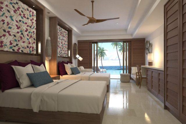 Vista de las habitaciones de Now Onyx Punta Cana