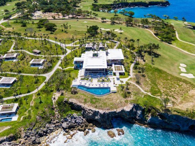Amanera, Playa Grande está ubicado dentro del proyecto turístico Playa Grande del Municipio Río San Juan en la Provincia María Trinidad Sánchez