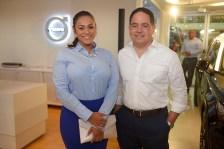Sally Santos y Robert Morel