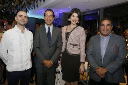 José Antonio Attias, Daniel Lozano, Alba Russo,Raini Mejía