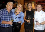 Paco Castillo, Betina Rey, Erika Jimenez y Ángel Girona