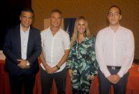 Juan Carlos Gaston, Fernando Revilla, Idalia Cabrera y Pedro Pascual