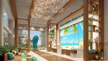Lobby interior Margaritaville Island Reserve