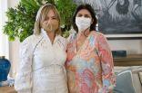 Lissette Hazoury y Yumaila Sabbagh de Santana