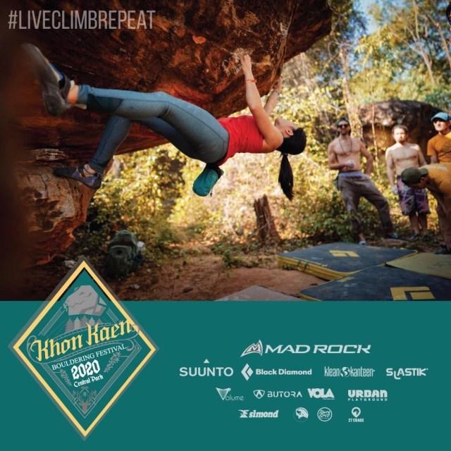 Khon Kaen Bouldering Festival 2020