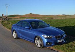 BMW 218i Coupé frente - PUNTA TACÓN TV