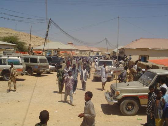 Somaliland oo amarro adag ku soo rogtay shacabka gobolka Sool