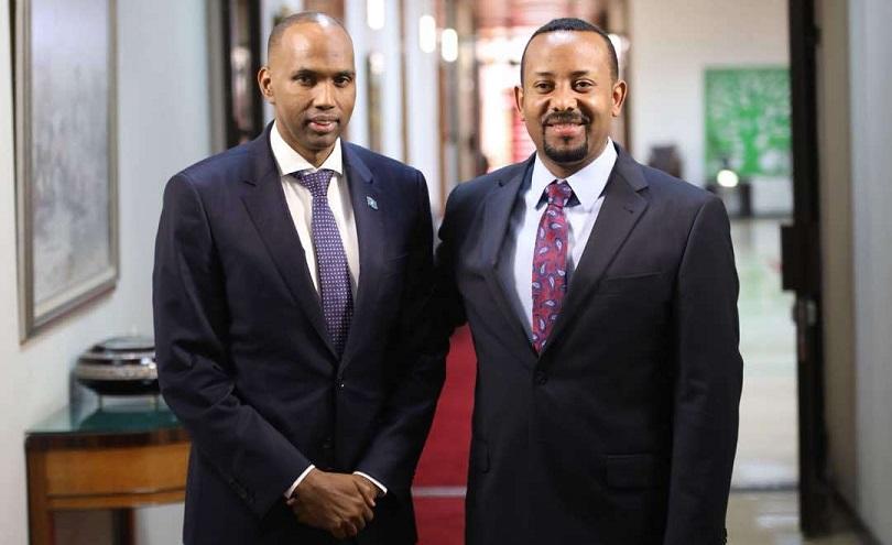 Ra'iisul Wasaare Khayre oo Magaalada Addis Ababa kula kulmay dhiggiisa Dalka Itoobiya
