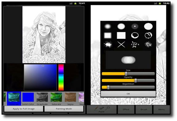 Tutorial personalizar fotos en Android con Photo Art - Color Effects