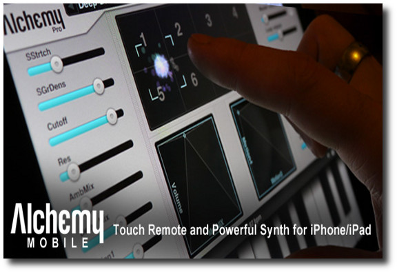 Alchemy Mobile Synth para Iphone : Ipad
