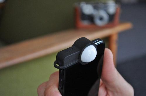 Luxi, medidor de luz incidente para el iPhone