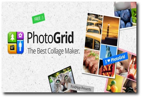 presentación crear collages desde Android con Photo Grid-Collage Maker