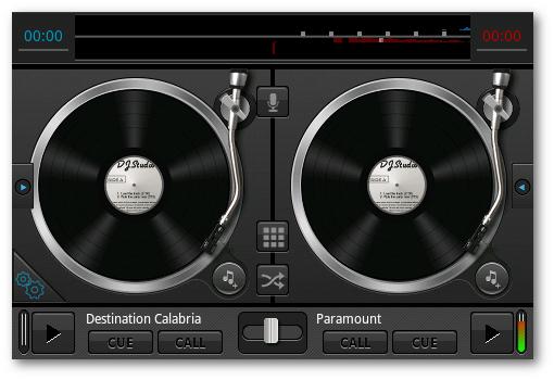 agregar los efectos de DJ