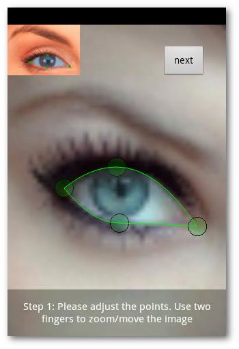 Ajuste para Eye Color