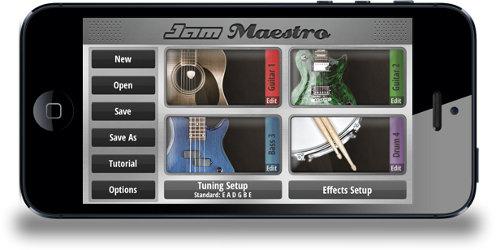 Interfaz Jam Maestro