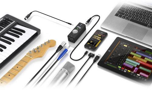 iRig PRO, interfaz audio:MIDI para iPhone, iPad y Mac