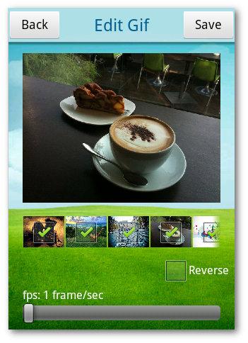 Crear un GIF en Android