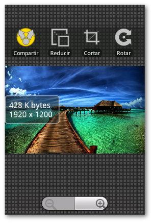 reducir imágenes en Android