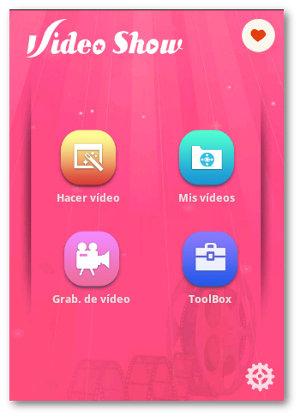 videos con fotos con VideoShow