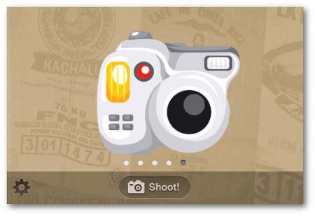 Aplicación Android Cartoon Camera