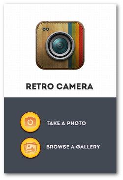 Retro Camera for Instagram