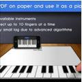 Convierte un pedazo de papel en un piano con Paper Piano para iPhone