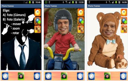 Aplicaciones para hacer montajes en Android