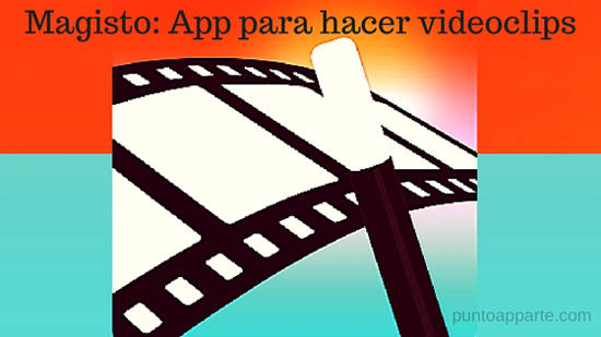 Portada Magisto app