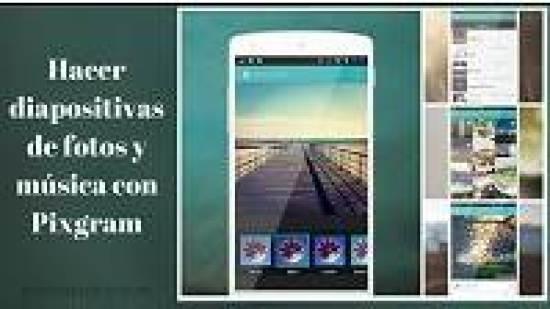app android para hacer diapositivas con fotos