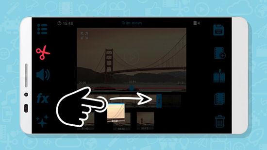 editar un video con videona