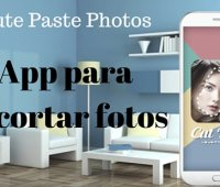 Cute Paste Photos:  App para recortar fotos