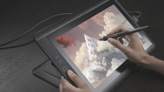 dibujar en una tablet wacom