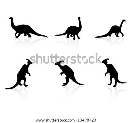 Parasaurolophus Silhouette