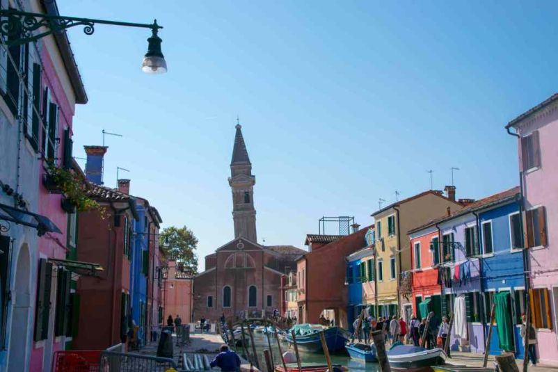 campanile storto a Burano