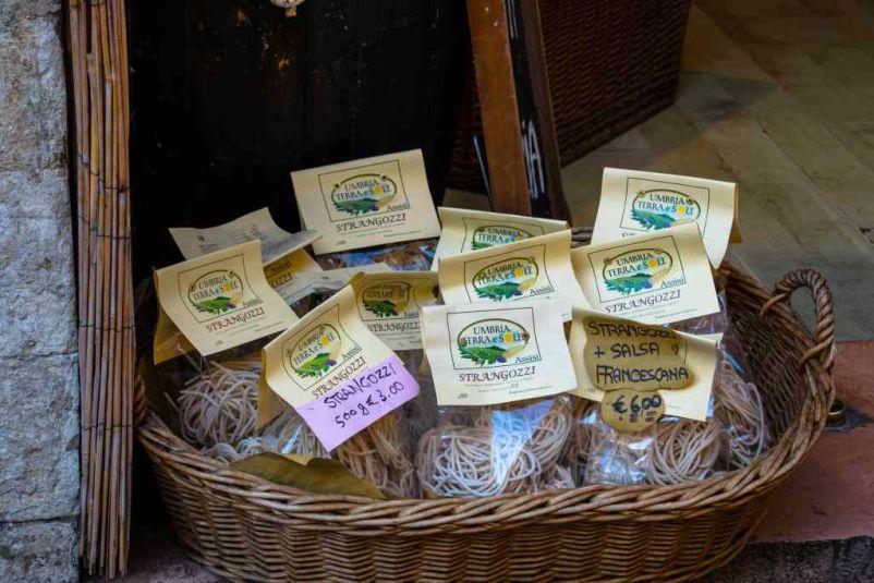 prodotti tipici umbri pasta