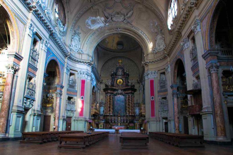 chiesa visitata durante i due giorni a torino