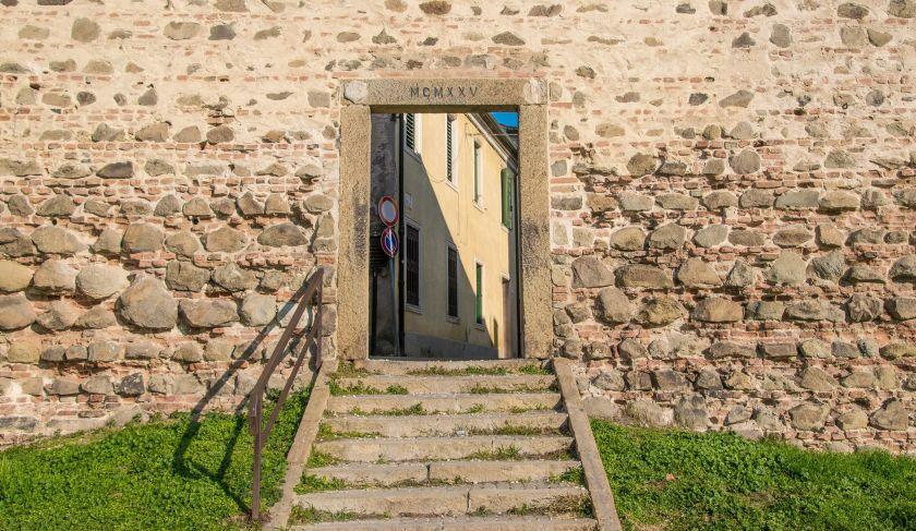 porta di ingresso al borgo di montagnana