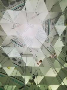 gioco di specchi al museo delle illusioni
